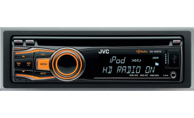 JVC KD-HDR70 Front