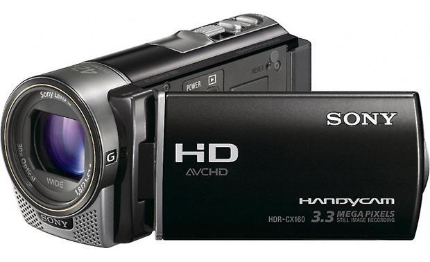 sony handycam hdr cx160 high definition camcorder with 16gb flash rh crutchfield com sony handycam cx160 software sony handycam cx160 manual