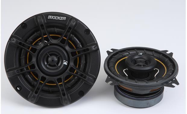 kicker ds way car speakers at com kicker ds40 front