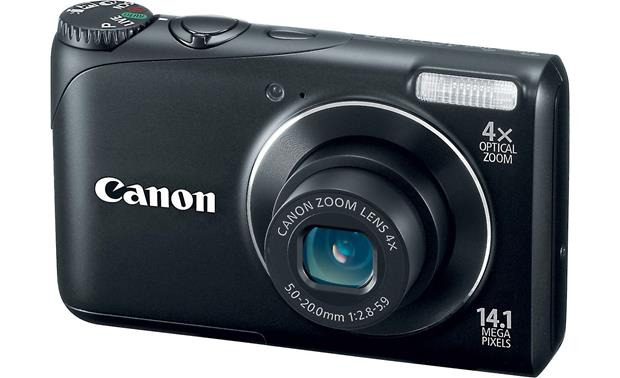 canon powershot a2200 black 14 1 megapixel digital camera with 4x rh crutchfield com canon powershot a2200 service manual canon powershot a2200 manual