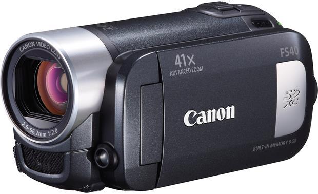 canon fs40 standard definition camcorder with 8gb flash memory at rh crutchfield com Canon 2000X Digital Zoom Manual Canon FS200