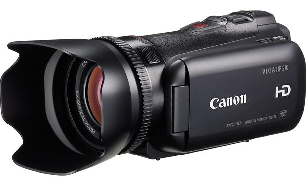 canon vixia hf g10 high definition camcorder with 32gb flash memory rh crutchfield com Canon HF G30 Canon Vixia HF200