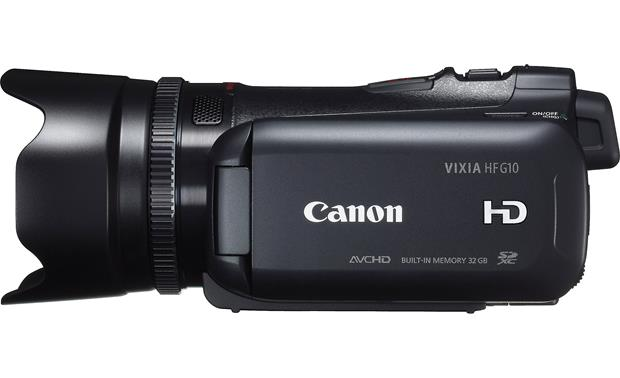 Canon VIXIA HF G10 Left side