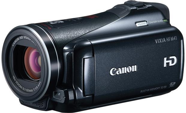 canon vixia hf m41 high definition camcorder with 32gb flash memory rh crutchfield com Canon Vixia HF200 Canon Vixia HF200