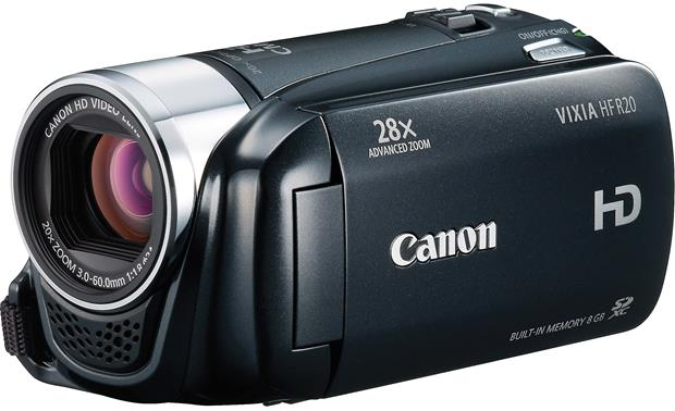 canon vixia hf r20 black high definition camcorder with 8gb flash rh crutchfield com  canon vixia hf r20 manual