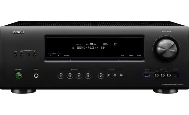denon avr 1612 home theater receiver with 3d ready hdmi switching at rh crutchfield com denon avr-1612 manual setup denon avr-1612 manual setup