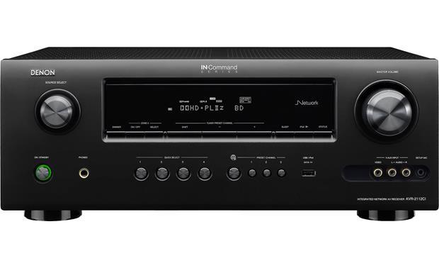 denon avr 2112ci home theater receiver with 3d ready hdmi switching rh crutchfield com Denon AVR Receiver denon avr 2112 manual