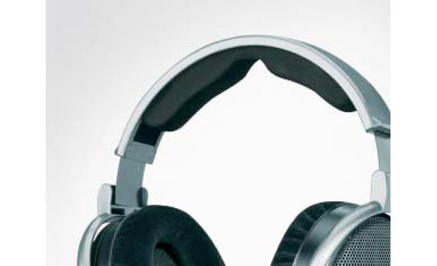 Sennheiser HD 650 Closeup of padded headband