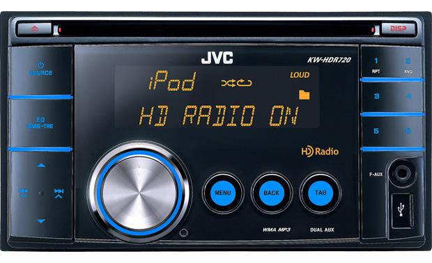 jvc kw hdr720 cd receiver at crutchfield com jvc kw hdr720 front