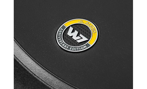 JL Audio 8W7AE-3 Anniversary Edition Badge