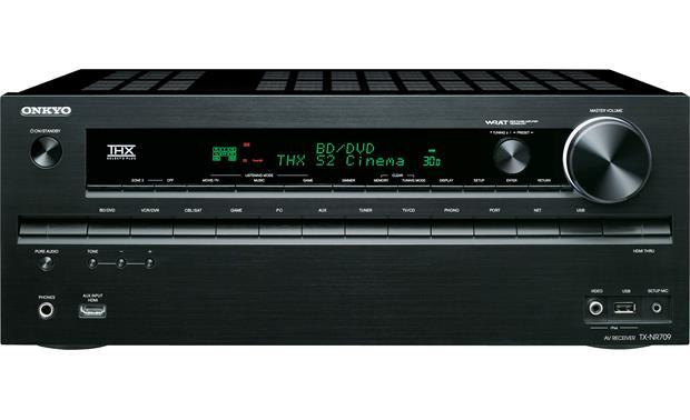 onkyo tx nr709 home theater receiver with 3d ready hdmi switching rh crutchfield com onkyo tx nr709 manual onkyo tx-nr709 manual pdf