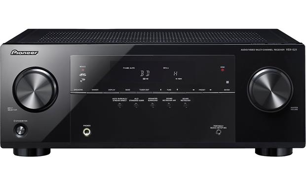 pioneer vsx 521 k home theater receiver with 3d ready hdmi switching rh crutchfield com Pioneer VSX D457 Operating Manual pioneer vsx-521-k 5.1 receiver manual