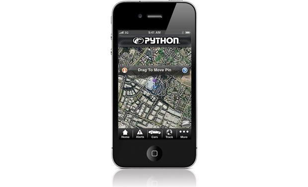 Python DSM250 Smart Start GPS iPhone not included