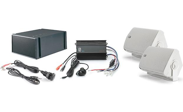 Poly-Planar Marine Audio System Front