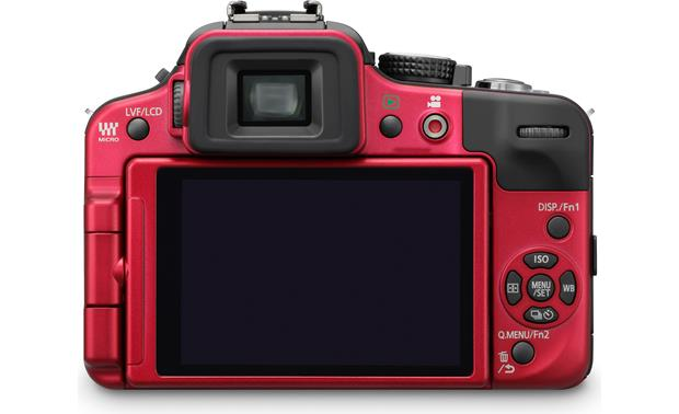 Panasonic DMC-G3K Kit Back (Red)