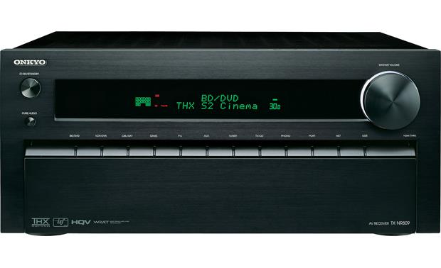 onkyo tx nr809 home theater receiver with 3d ready hdmi switching rh crutchfield com