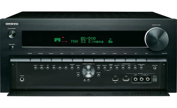 Onkyo TX-NR809 With front panel open