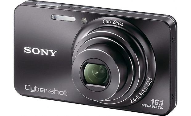 sony cyber shot dsc w570 black 16 1 megapixel digital camera with rh crutchfield com Sony Cyber-shot DSC-W560 Sony Cyber-shot DSC-H90