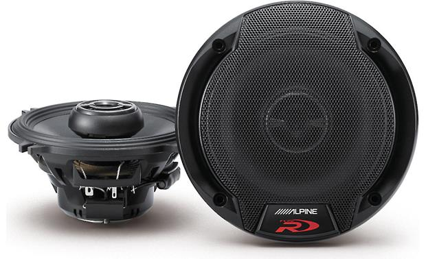 alpine spr 50 type r 5 1 4 2 way car speakers at crutchfield com rh crutchfield com
