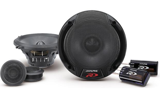 alpine spr 50c type r 5 1 4 component speaker system at crutchfield com rh crutchfield com