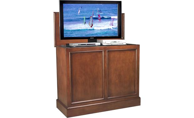 UpLift Universal Cabinet Brown finish (TV and components not included)
