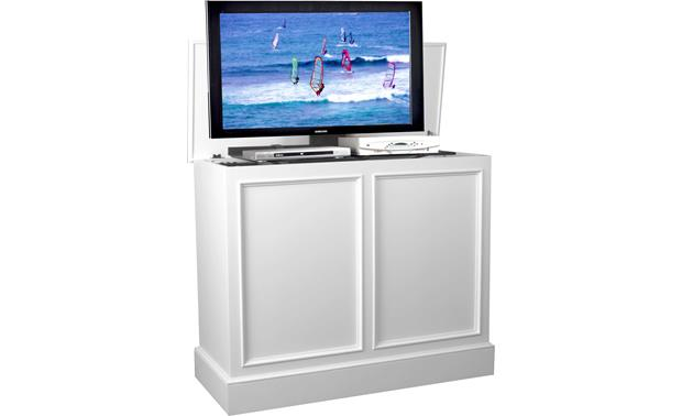 UpLift Universal Cabinet White finish (TV and components not included)