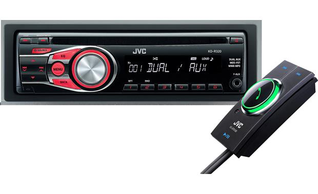 JVC CD Receiver / Bluetooth® Adapter Package Front