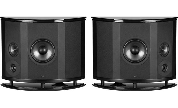 Polk Audio LSi M 702 f/x Shown with grilles off