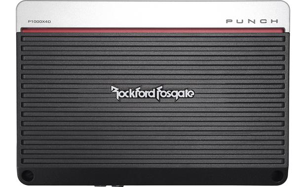 Rockford Fosgate Punch P1000X4D Front
