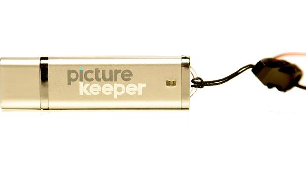 Picture Keeper Automatic Photo Backup Device Front