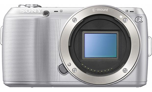 Sony Alpha NEXC3K Front, body only