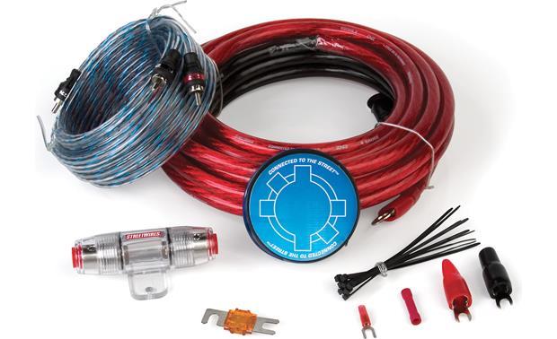 streetwires zeronoise 3 zn3ki 04 4 gauge amplifier wiring kit with rh crutchfield com Instrument Cluster Wiring Harness Mercury Smartcraft