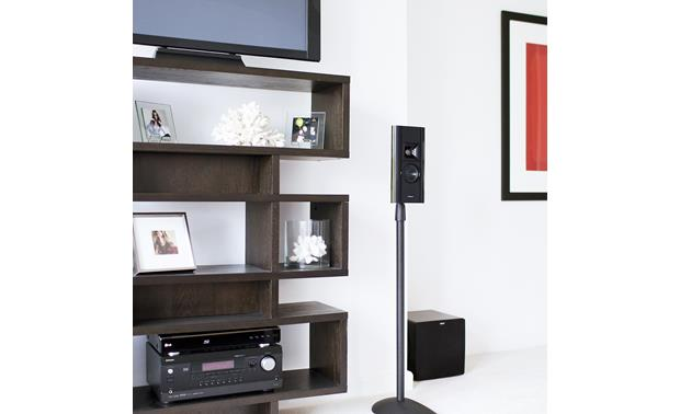Klipsch® Gallery™ G-12 Flat Panel Speaker On stand (not included)