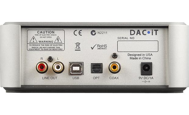 Peachtree DAC<B>&#183;</B>iT Back
