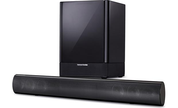 Harman Kardon SB 16 Powered home theater sound bar with wireless ...