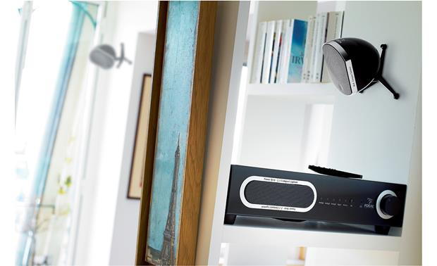 Focal Little Bird Pack 2.1 Little Bird satellite (shown wall mounted)