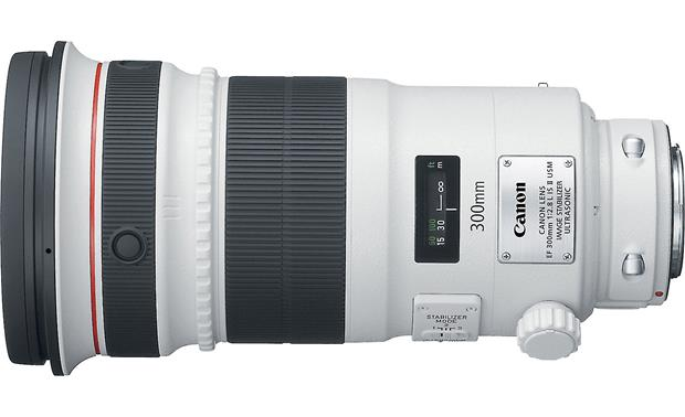 Canon EF 300mm f/2.8L IS II USM Lens Top view