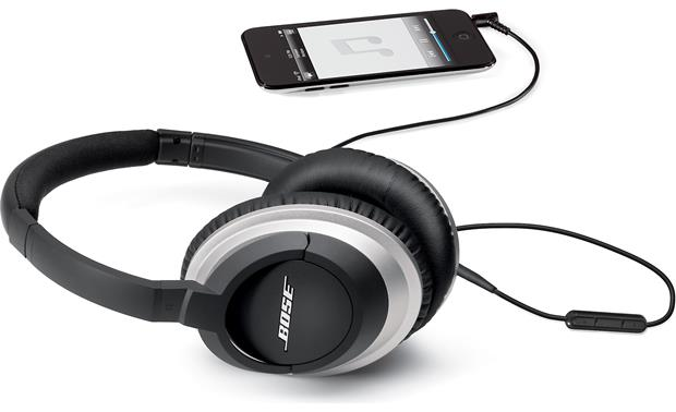 Bose® AE2i audio headphones Connected to an iPod® touch® (iPod not included)