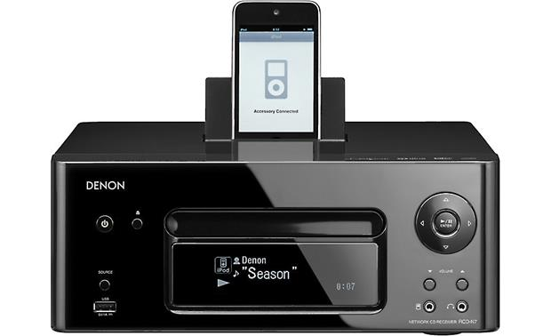 Denon RCD-N7 Black (iPhone not included)