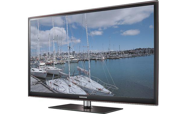 "Samsung PN51D550 51"" 1080p 3D plasma HDTV at Crutchfield"