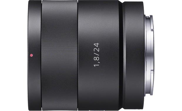 Sony Alpha SEL-24F18Z 24mm f/1.8 lens Side