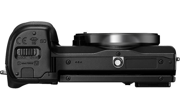 Sony Alpha NEX-7 Bottom view, body-only