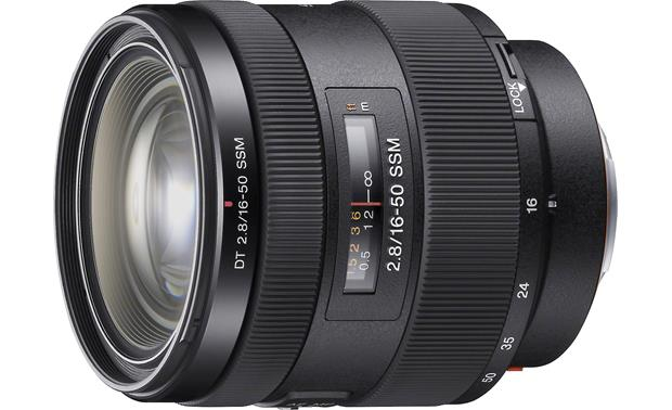 Sony Alpha 16-50mm f/2.8 Lens Front