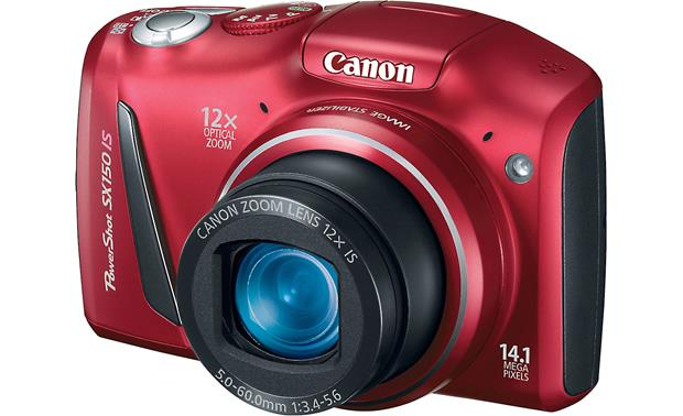 Canon PowerShot SX150 IS Front - Red