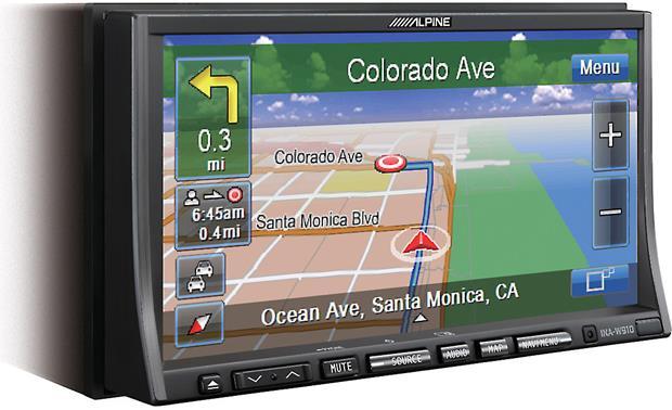 Alpine INA-W910 Perfect Fit for Toyota Sienna Alpine GPS