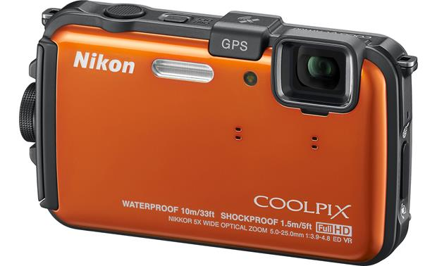 Nikon Coolpix AW100 Front - Orange
