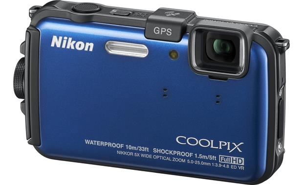Nikon Coolpix AW100 Front - Blue