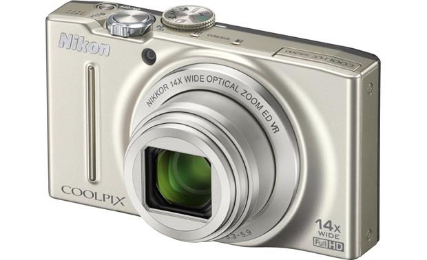 Nikon Coolpix S8200 Front - Silver