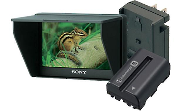 Sony CLM-V55BDL Portable Monitor Bundle Front