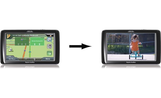 magellan wireless back up rear view for select magellan portable gps navigators at